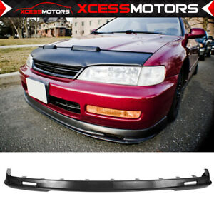 Fit 96 97 Accord Coupe Sedan 4cyl Mugen Pp Front Bumper Lip Spoiler
