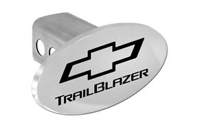 Chevy Trailblazer Trailer Hitch Cover Plug With Black Chevrolet Bowtie