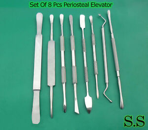 2 Sets Of 8 Periosteal Dental Elevator Set Surgical Dn 389
