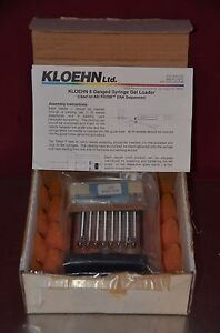 Kloehn 8 Ganged Syringe Gel Loader For Abi Prism Dna Sequencer P n 18597