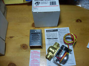 Honeywell V8043e1012 Zone Valve 24vac 3 4in Copper Sweat Includes End Switch