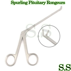 Spurling Pituitary Rongeurs 5 Up Angled Neuro Surgical Instrumen