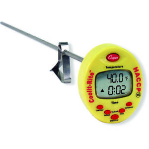 Digital Thermometer Cooper atkins Ttm41 0 8 W alarm 4 To 302 f Temp 138 1195