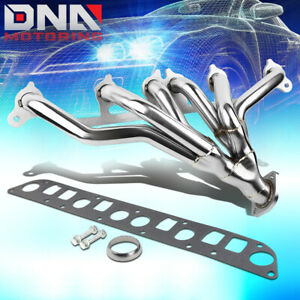 Stainless Steel Header For 91 99 Jeep Wrangler Cherokee 4 0 L6 Exhaust Manifold