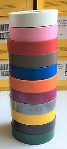 3 4 X 66 Ft General Purpose Electrical Tape Rainbow Pack Of 11 Rolls