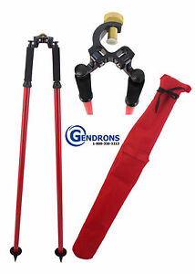 Tpi Thumb Release Bipod For Surveying total Station Gps seco topcon trimble