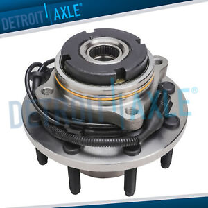 Front Wheel Bearing Hub 2003 2004 Ford F 250 F 350 Srw Fine Thread Abs 4wd