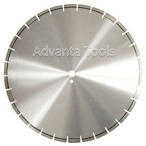 20 Laser Welded Diamond Saw Blade For Cured Concrete Hard Brick Pavers Stone