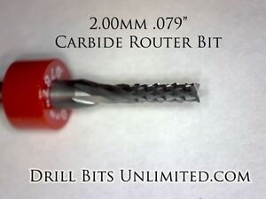 079 2 00 Mm Carbide Router Bit Brand New Pcb Cnc Model End Mill N R138