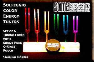 Ancient Solfeggio energy Tuners Tuning Fork Set exclusively Ours