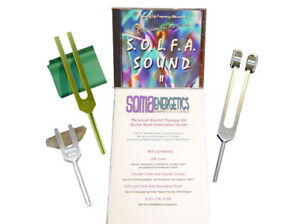 Personal Sound Therapy Kit Tuning Fork Set Tuning Forks Exclusively Ours