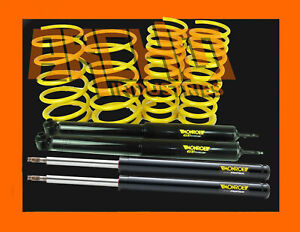 Vh Commodore V8 Sedan 50mm Super Low King Springs Monroe Gt Struts Shocks