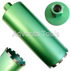 4 Wet Diamond Core Drill Bit For Concrete Premium Green Series