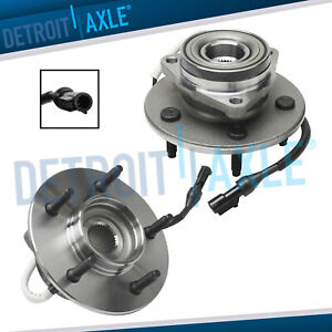 2 Front Wheel Bearing Hub For 1997 1998 1999 2000 Ford F 150 12mm Bolt 4x4 Abs