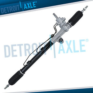 Complete Hydraulic Power Steering Rack And Pinion Assembly For Accord 4cyl Sedan