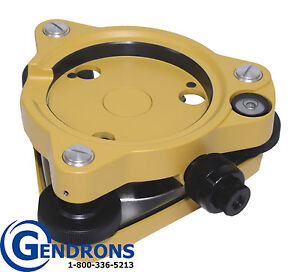 New Tpi Optical Tribrach For Total Station Gps Surveying sokkia topcon trimble