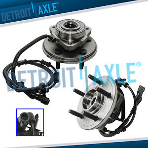 2 Front Wheel Bearing Hub 2002 2003 2004 2005 Ford Explorer Mercury Mountaineer