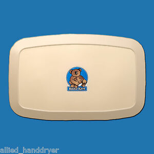 Koala Kare Kb200 00 Baby Changing Station Cream Surface Mount Horizontal