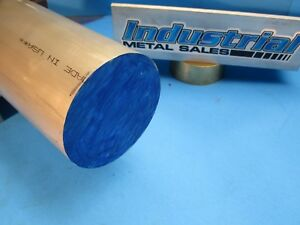 3 dia X 12 long 6061 T6511 Aluminum Round Bar 3 Diameter 6061 Lathe Stock