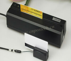 Magnetic Swipe Credit Card R writer Msre206 Mini400 Portable Collector Reader