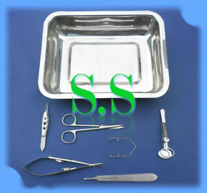 Advance Eye Kit Surgical Optalmic Instruments Ey 032