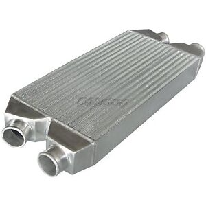 Cxracing Twin Intercooler For Nissan 300z Audi A4 S4 2 5 Inlet outlet 30x11x3