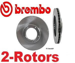 Set Of 2 pair Brembo Front Disc Brake Rotor s