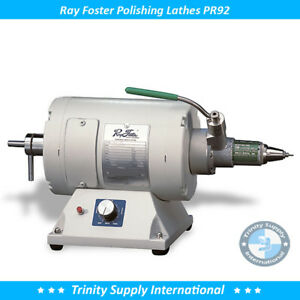 Ray Foster Variable Speed Lathe Pr92 With Chuck Mounted Dental Lab New