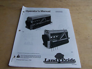 Landpride Ps1548 Ps1572 Primary Seeder Operator s Parts Manual copy