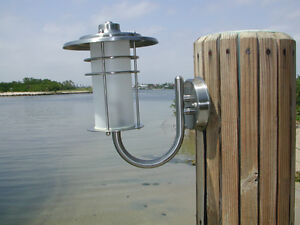 Stainless Steel Sconce Nautical Dock Light 1