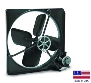 Exhaust Fan Commercial Belt Drive 30 230v 1 2 Hp 1 Speed 9500 Cfm