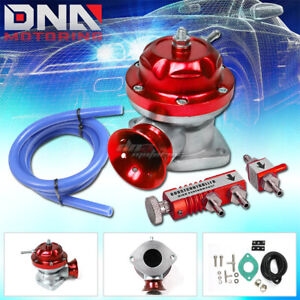 Turbo charger 1 30 Psi Adjustable Aluminum Red Blow Off Valve boost Controller
