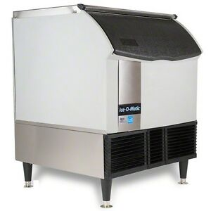 New Ice o matic 309lb 24 Commercial Half Cube Ice Maker Machine Modular Head Air
