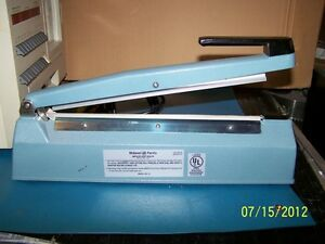 Midwest Pacific Mp 12 Hand Operated Sealer Impulse 12