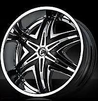 32 Inch Diablo Elite Wheel Hummer H2 Tahoe Escalade Performance Tires 3052532