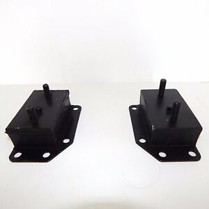 Pair Of New Engine Motor Mount Mounts Mga Mgb 1955 1974