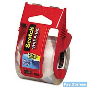 2 x27 7y 3 Mil 3m Scotch 142l Packaging Packing Tape Dispenser 24 Pc
