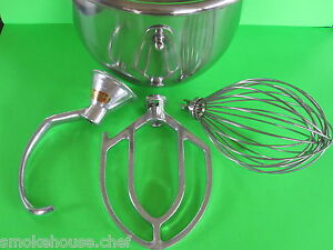 Everything For The Hobart C100 Mixer Bowl Hook Beater Whip Whisk 10 Quart