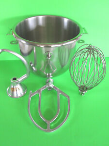 Everything For The Hobart A120 120 Mixer Bowl Hook Beater Wire Whip 12 Quart