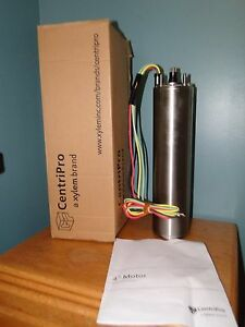 Goulds 1 2 Hp 5 Hp 4 Centripro Submersible Pump Motor 230v 1 Phase M05412
