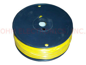 Pw16y 500 Ft Feet Of 16 Awg Yellow Spooled Primary Wire