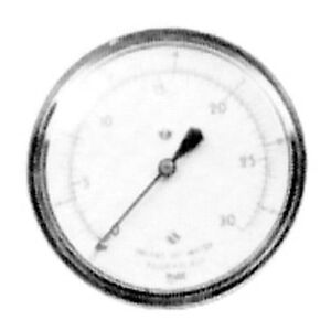 Gauge Gas Pressure 0 To 15 Wc 2 1 2 Dia For Nieco Broiler Oem 16036 621105