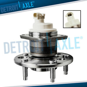 New Rear Wheel Hub And Bearing Assembly For Gm Vehicles W 4 wheel Abs Disc