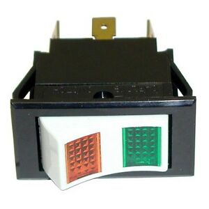 Lighted Rocker Switch Fits 3 4 X 1 1 2 Hole For Groen Boiler Neb Ngb Dpst 421383