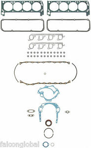Ford 351c 351m 400 Fel Pro Full Gasket Set Head Oil Pan Rear Seal Exhaust 70 82