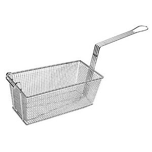 Twin Fryer Basket 13 1 4l X 5 3 4w X 5 3 4d Front Hook For Garland 3