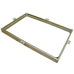 Door Glass 15 3 4 X 23 1 4 Tabs Centered For Imperial Oven Icvd Oem 1860 281189
