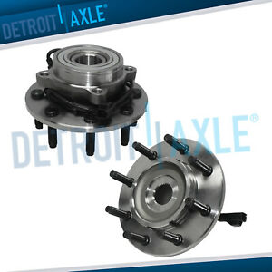 2 2003 2005 Dodge Ram 2500 3500 Front Wheel Bearing And Hub For Abs 4wd 8lug