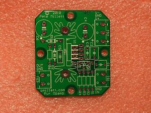 Diy Pcb 2x Power Opamp Driver Pcb opa452 Opa547