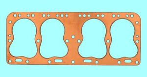 Cadillac lasalle 322 346 Copper Head Gaskets Pair 2 Best 1937 1948